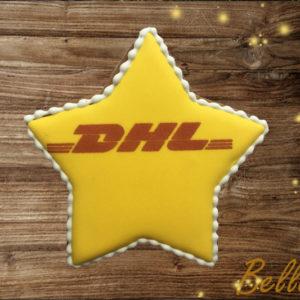 Пряник звезда с логотипом